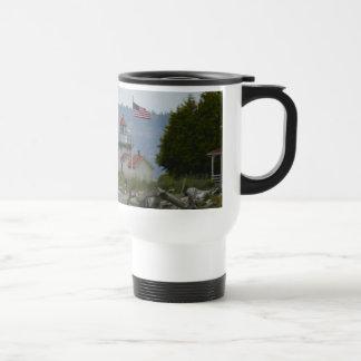 Point No Point Lighthouse Travel Mug