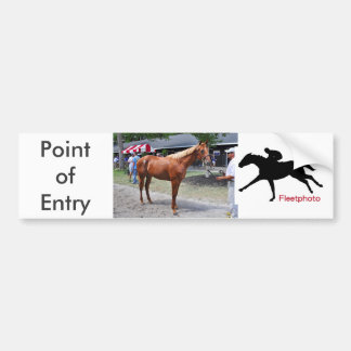 Point of Entry Colt Bumper Sticker
