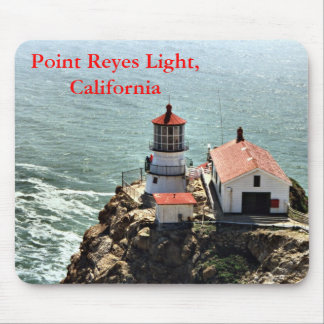Point Reyes Light, California Mousepad