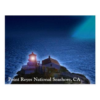 Point Reyes National Seashore Lighthouse CA Postca Postcard