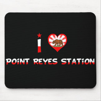 Point Reyes Station, CA Mousepads
