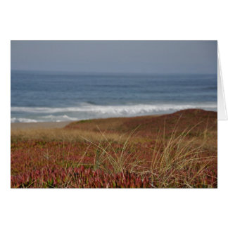 Point Reyes Waves - Greeting Card