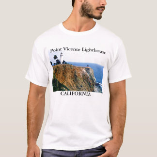 Point Vicente Lighthouse, California T-Shirt