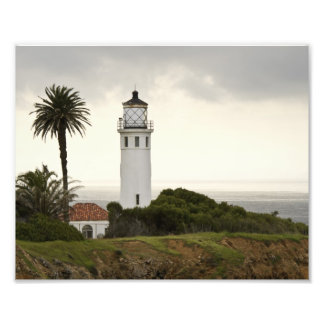 Point Vicente Lighthouse Photo Print