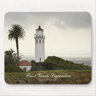 Point Vicente Lightstation Mousepad