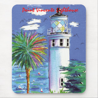 Point Vincente Lighthouse mousepad