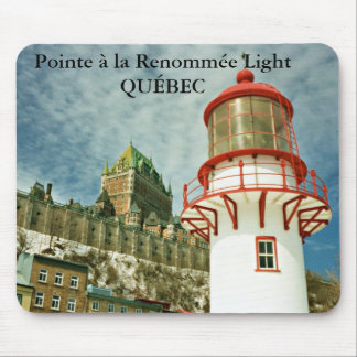 Pointe à la Renommée Lighthouse, Québec Mousepad