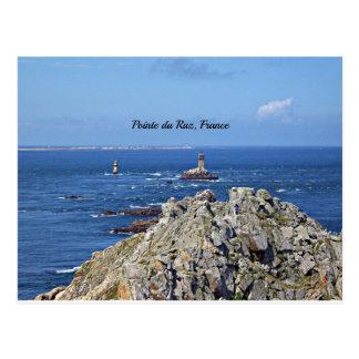 Pointe du Raz, France Postcard