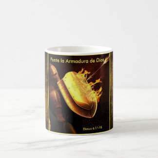 Pointe La Armadura De Dios Spanish Mug