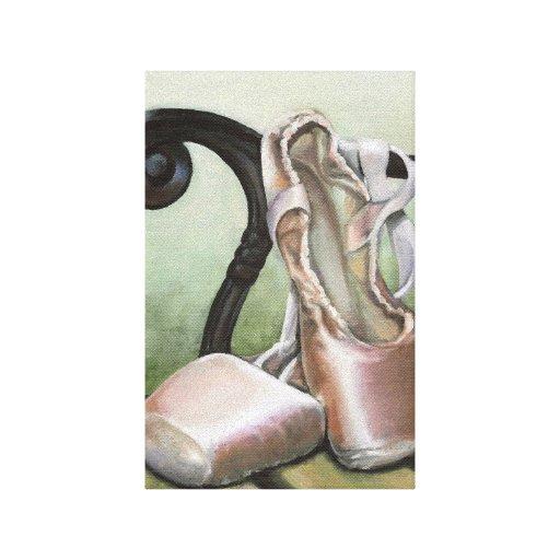 Pointe Shoes Canvas Prints