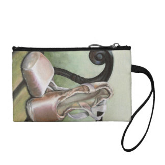 Pointe shoes change purses