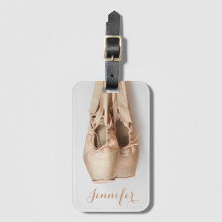 Pointe Shoes Luggage Tag