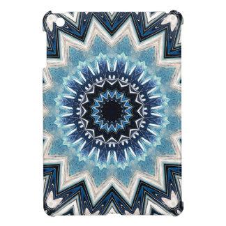 Pointed Blue Mandala Case For The iPad Mini