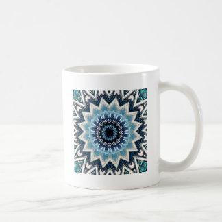 Pointed Blue Mandala Coffee Mug