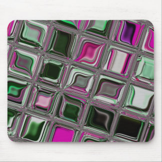 Pointed Mint mosaic Mouse Pad