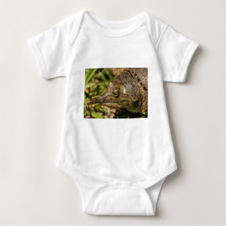 Pointed Nose Florida Softshell Turtle Baby Bodysuit