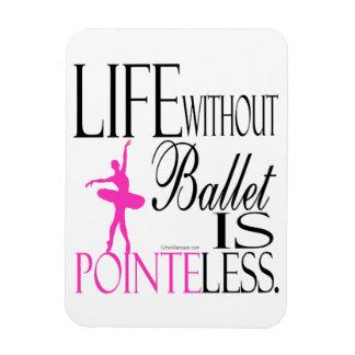 Pointeless Ballet Magnet