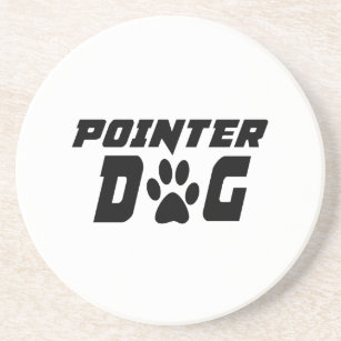 POINTER DOG DESIGNS COASTER
