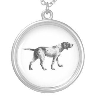 Pointer Dog Necklace