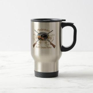 Pointer No Hunting Mugs