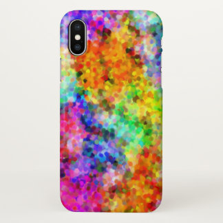 Pointillism Chakra iPhone X Case