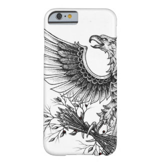 Pointillism Style Eagle - Iphone 6/6s Case