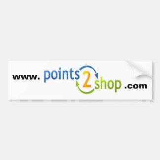 points2shop bumper sticker