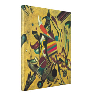 Points by Wassily Kandinsky Abstract Expressionism Stretched Canvas Print
