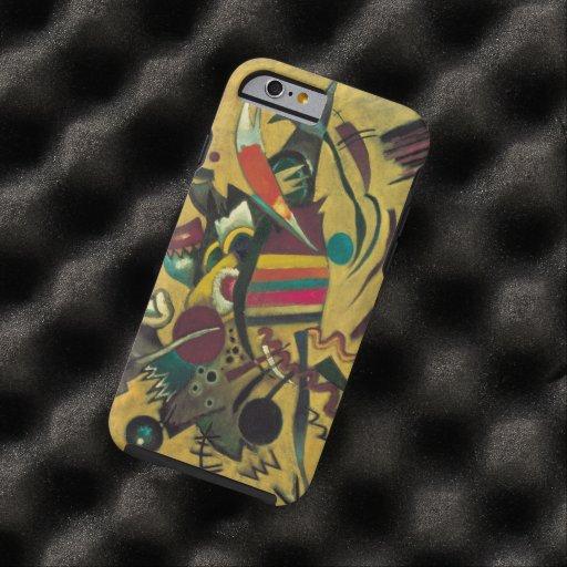 Points by Wassily Kandinsky Abstract Expressionism Tough iPhone 6 Case