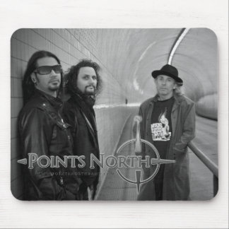 "Points North ""Broadway Tunnel"" Mouse Pad"