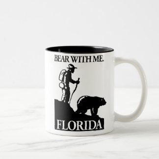 Points North Studio 'Bear With Me' Florida Two-Tone Coffee Mug
