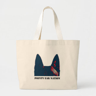 Pointy Ear Nation design Jumbo Tote Bag
