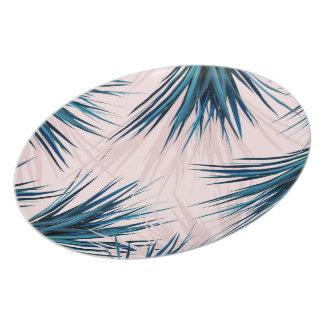 Pointy Palm melamine plate