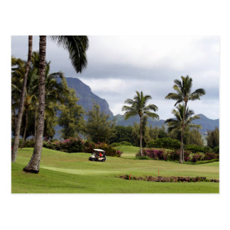 Poipu Bay Golf Course, Kauai, Hawaii Postcard