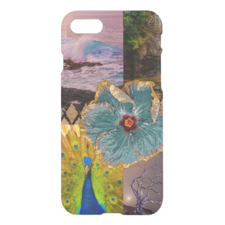 Poipu Sunrise, Kauai Hawaiian Collage iPhone 7 Case