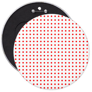 pois rouge button