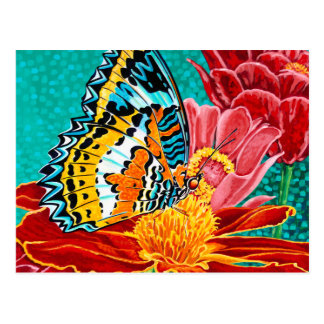 Poised Butterfly I Postcard