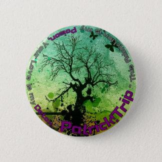 Poison and Detox 6 Cm Round Badge