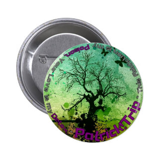 Poison and Detox 6 Cm Round Badge