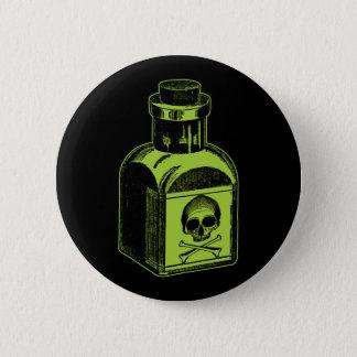 Poison Bottle 6 Cm Round Badge