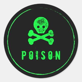 Poison Bottle - Alcohol bottle label for Halloween