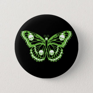 Poison Butterfly 6 Cm Round Badge