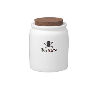 Poison Candy Jar
