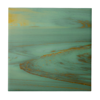 Poison Creek, Wyoming Abstract Photography Design Ceramic Tile