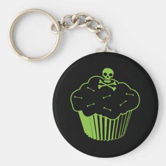 Poison Cupcake Key Ring