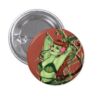 Poison Ivy Bombshell Pinback Buttons