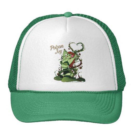 Poison Ivy Bombshell Mesh Hats