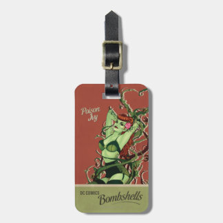 Poison Ivy Bombshell Luggage Tag