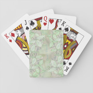 Poison Ivy Poker Deck