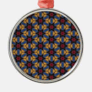Poison Lotus 1 Metal Ornament